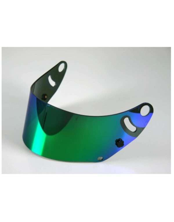 Arai-SK6-GP6-Iridium-Mirror-Visor-Green